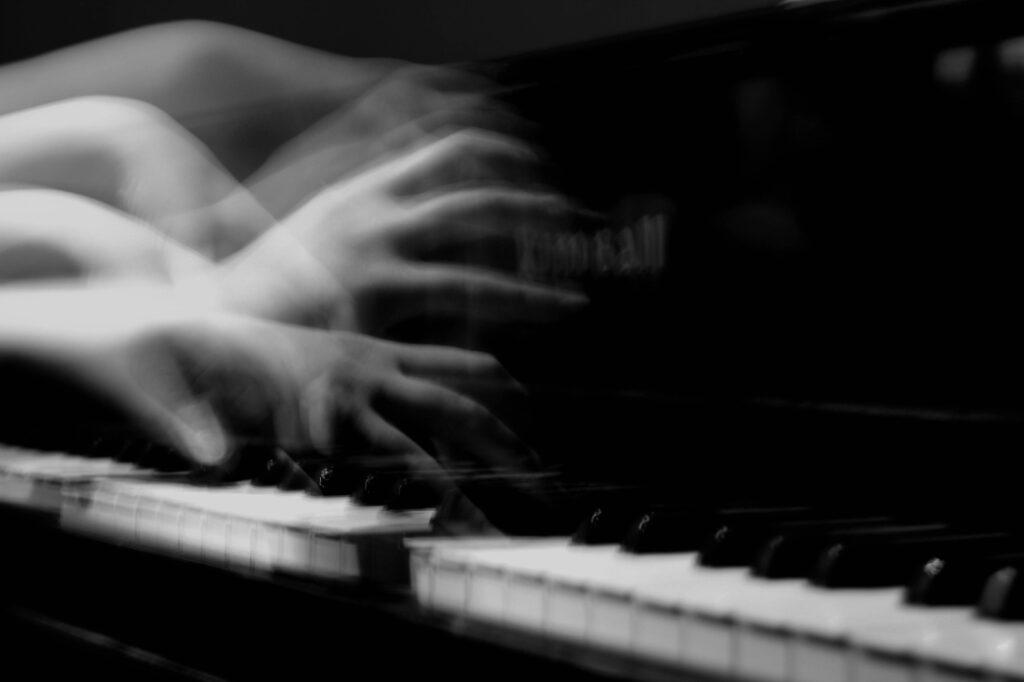 The Piano Man by Olivia Adams